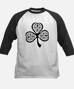 Celtic Shamrock Kids Baseball Jersey