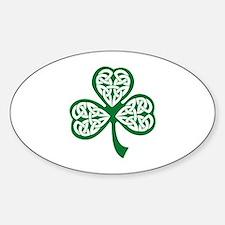 Celtic Shamrock Decal