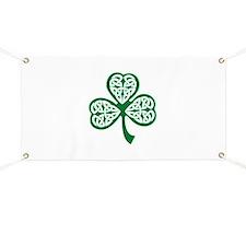 Celtic Shamrock Banner