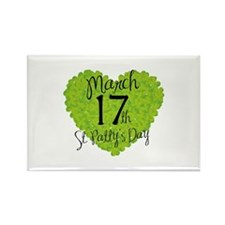 St. Patty's Day March 17th Rectangle Magnet