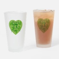 St. Patty's Day Drinking Glass