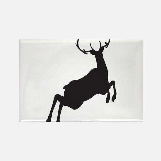 Deer Rectangle Magnet
