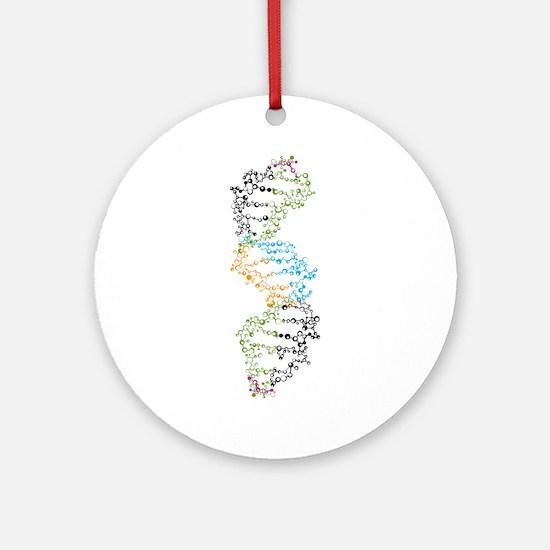DNA Ornament (Round)