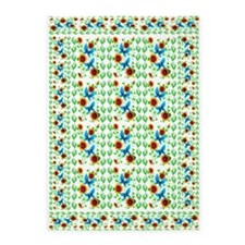 Lily of the Vallery 5'x7'Area Rug