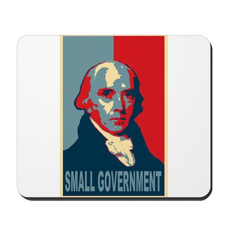 "James Madison ""Small Government"" Mousepad"