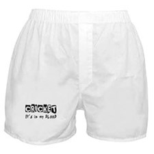 Cricket Designs Boxer Shorts