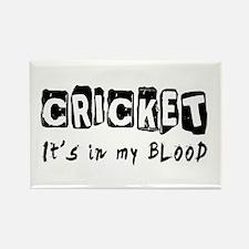 Cricket Designs Rectangle Magnet