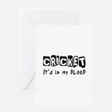 Cricket Designs Greeting Card