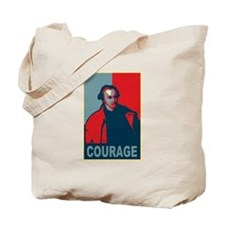 """Patrick Henry """"Courage"""" Tote Bag"""