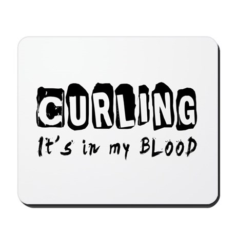 Curling Designs Mousepad