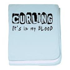 Curling Designs baby blanket