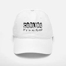 Curling Designs Baseball Baseball Cap