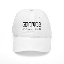 Curling Designs Baseball Cap