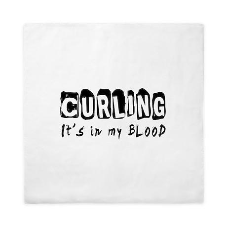 Curling Designs Queen Duvet
