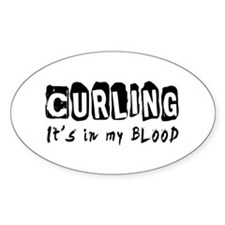 Curling Designs Decal