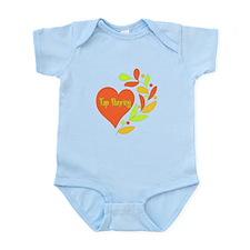 Tap Dancing Heart Infant Bodysuit