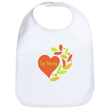 Tap Dancing Heart Bib