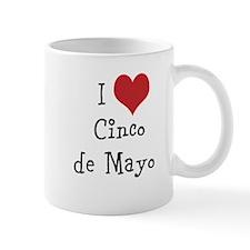 I Love Cinco de Mayo Mug