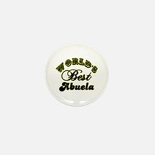 Best Abuela Mini Button (10 pack)