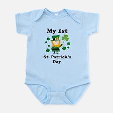 My 1st St. Patricks's Day Infant Bodysuit