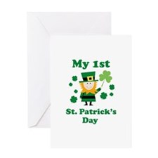My 1st St. Patricks's Day Greeting Card
