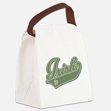 Irish [Baseball Style] Canvas Lunch Bag