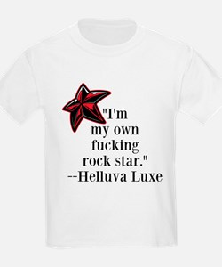 Rorkes rock star quote T-Shirt