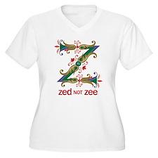 Zed not Zee Plus Size T-Shirt
