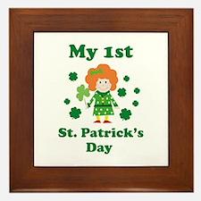 My 1st St. Patrick's Day Framed Tile