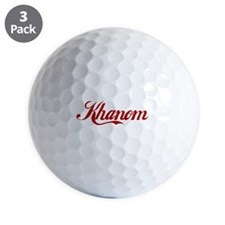 Khanom name Golf Ball