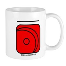 RED Overtone MOON Mug