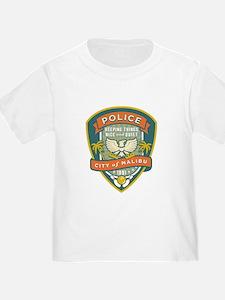 The Big Lebowski Malibu Police T-Shirt