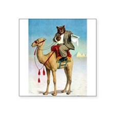 RB_egyptian camel rb abroad.png Square Sticker 3""