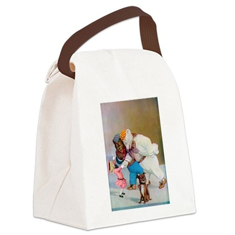 RB_buster brown.png Canvas Lunch Bag