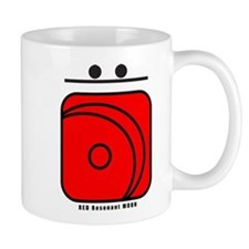 RED Resonant MOON Mug