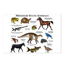 Missouri State Animals Postcards (Package of 8)