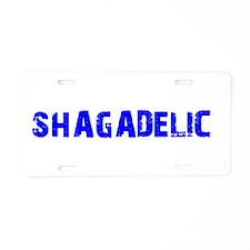 Schagadelic Current Aluminum License Plate