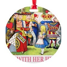 ALICE_OFF WITH HEAD_PINK.png Ornament