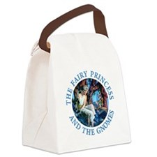 PRINCESS THE GNOMES_blue.png Canvas Lunch Bag