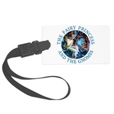 PRINCESS THE GNOMES_blue.png Luggage Tag