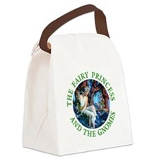 PRINCESS THE GNOMES_green.png Canvas Lunch Bag