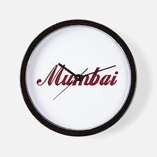 Mumbai name Wall Clock