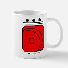 RED Cosmic MOON Mug