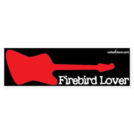 Firebird Love Bumper Sticker
