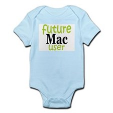 Future Mac User (green) Body Suit