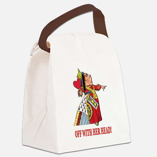 The Queen of Hearts Canvas Lunch Bag
