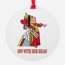 The Queen of Hearts Ornament