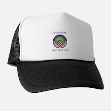 Cute Social work month Trucker Hat