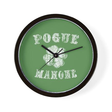 Pogue Mahone -vint Wall Clock
