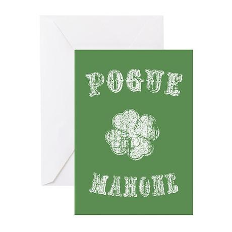 Pogue Mahone -vint Greeting Cards (Pk of 10)
